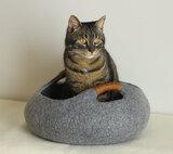 Vilten kattenmand Basket