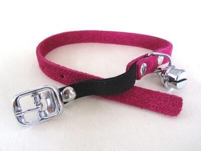 Halsbandje Suede Roze