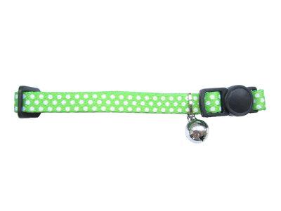 Halsbandje Dots Groen