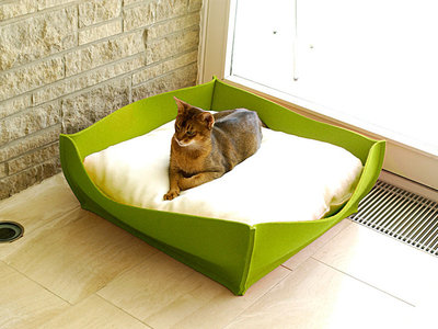 Vilten kattenmand Bowl S