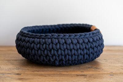 Sunny Basket - Donkerblauw