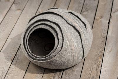 Vilten kattenmand - Hornets Nest Grijs