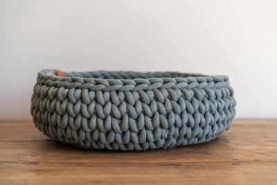 Sunny Basket - Pastel blauw